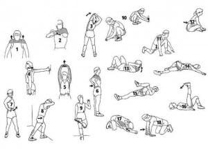 Растяжка голеностопа упражнения