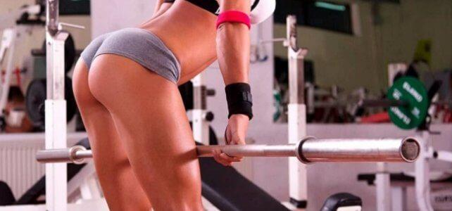 Упражнения со штангой для девушек для похудения