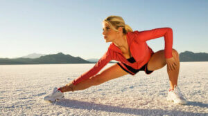 занятия фитнесом зимой на улице